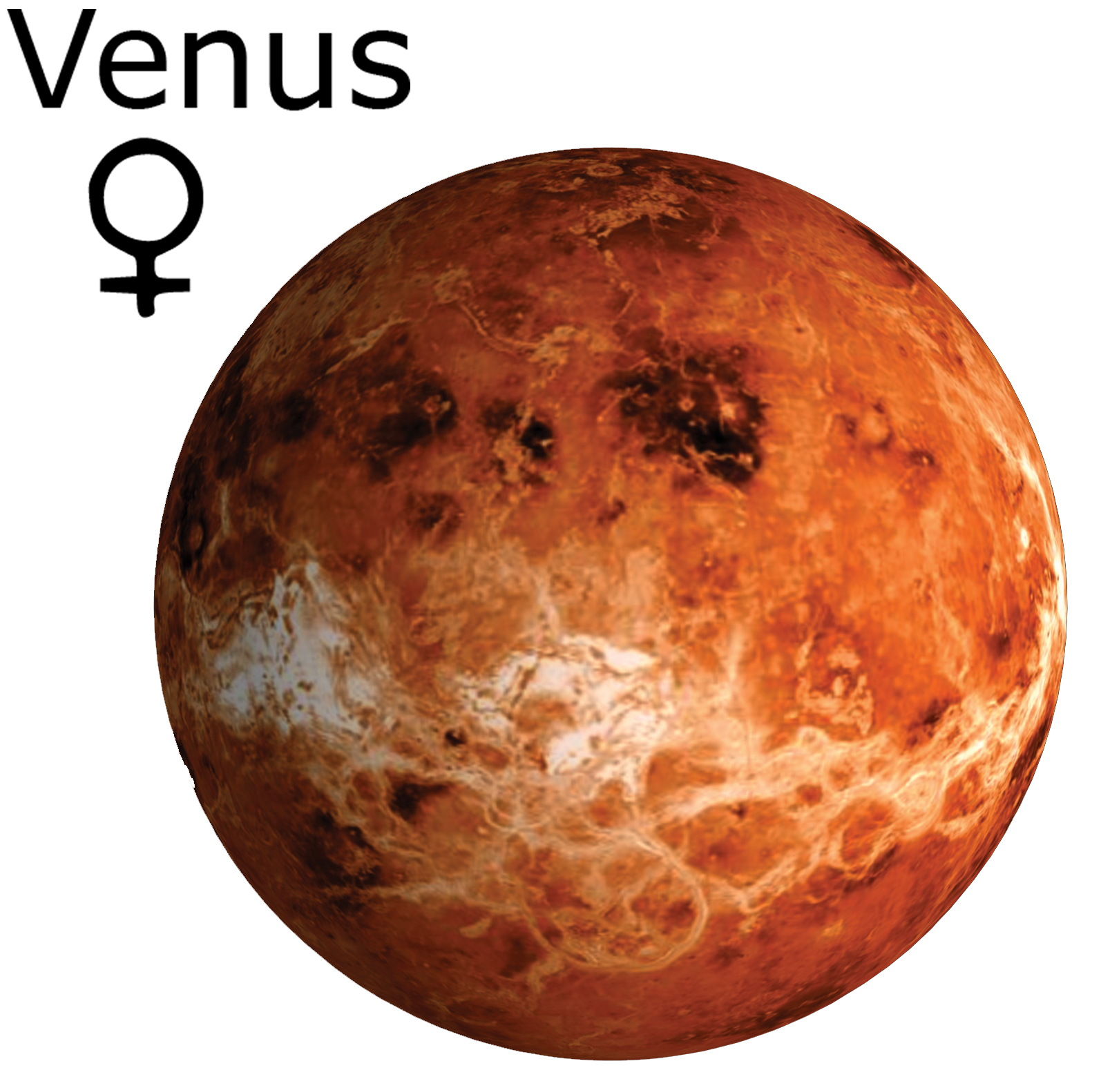 venus the planet is brown why - photo #17